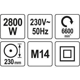 YT-82110 Rettificatore ad angolo di YATO attrezzi di qualità