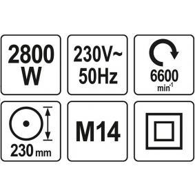 YT-82110 Rebarbadora de YATO ferramentas de qualidade