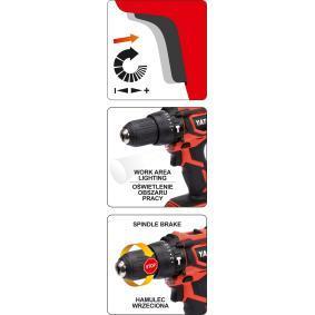 YATO Destornillador a batería YT-82781 tienda online