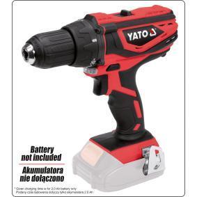 Aparafusadora eléctrica sem fio de YATO YT-82781 24 horas