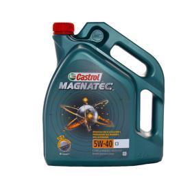 SAE-5W-40 Двигателно масло от CASTROL 15C9CB оригинално качество