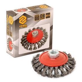 06977 Spazzola metallica di VOREL attrezzi di qualità