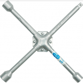 Four-way lug wrench for cars from VOREL - cheap price