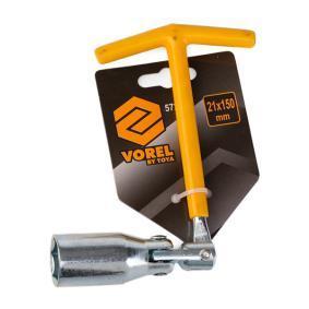 57210 Llave para bujías de VOREL herramientas de calidad