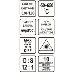 VOREL Termometer 81762 nätshop