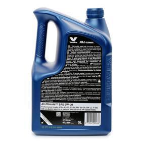 VALVOLINE Olio per auto, Art. Nr.: 872286 online