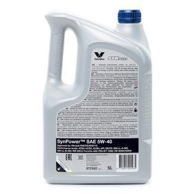 VALVOLINE Auto Öl, Art. Nr.: 872382 online