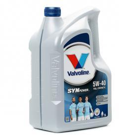 PKW Motoröl VALVOLINE (872382) niedriger Preis