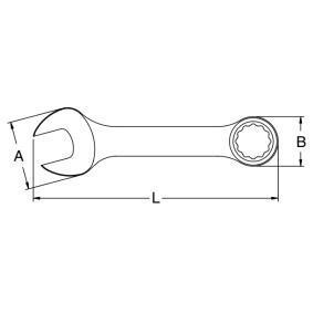 SATA Chave de bocas de luneta com roquete 49203 loja online