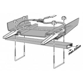 KAMEI Dachbox 08133501 im Angebot