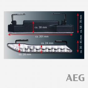 Daytime running light set 97141 AEG