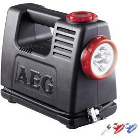 Въздушен компресор за автомобили от AEG: поръчай онлайн