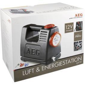 Въздушен компресор за автомобили от AEG - ниска цена