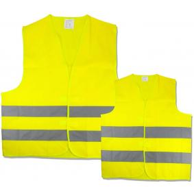 50252 High-visibility vest for vehicles