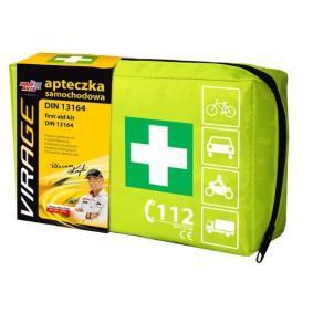 VIRAGE Kit de primeros auxilios para coche 94-006 en oferta