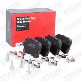 8K0698451D für VW, AUDI, SKODA, SEAT, Bremsbelagsatz, Scheibenbremse STARK (SKBP-0011980) Online-Shop