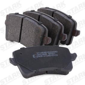 STARK Bremsbelagsatz, Scheibenbremse (SKBP-0011980) niedriger Preis