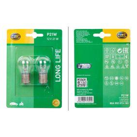HELLA Крушка за светлини за движение назад 8GA 002 073-183