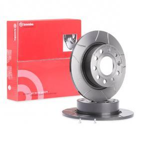 5C0615601 für VW, AUDI, SKODA, SEAT, PORSCHE, Bremsscheibe BREMBO (08.9502.75) Online-Shop