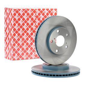 RAV 4 II (CLA2_, XA2_, ZCA2_, ACA2_) FEBI BILSTEIN Brake disc set 108404