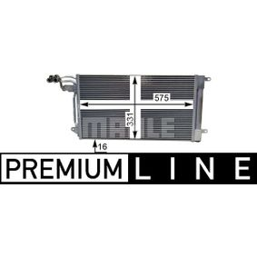 MAHLE ORIGINAL Kondensator, Klimaanlage (AC 566 000P) niedriger Preis