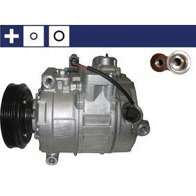 Compresor, aire acondicionado MAHLE ORIGINAL Art.No - ACP 102 000S OEM: 8E0260805AH para VOLKSWAGEN, SEAT, AUDI, VOLVO, SKODA obtener