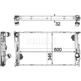 1 Schrägheck (E87) MAHLE ORIGINAL Motorkühler CR 1084 000P