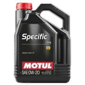 Aceite de motor SAE-0W-20 (109950) de MOTUL comprar online