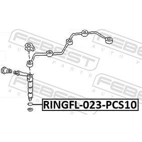 Wärmeschutzscheibe RINGFL-023-PCS10 FEBEST