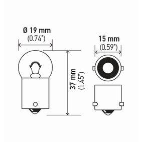 HELLA Glühlampe, Schlussleuchte 946777 für VOLVO bestellen