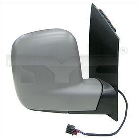 Außenspiegel TYC Art.No - 337-0310 OEM: 7H1857521N für VW, SKODA, SEAT kaufen