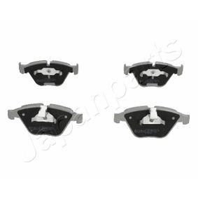 Bremsbelagsatz, Scheibenbremse JAPANPARTS Art.No - PA-0115AF OEM: 34116794916 für BMW kaufen