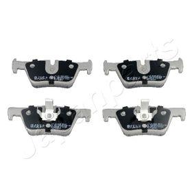 Bremsbelagsatz, Scheibenbremse JAPANPARTS Art.No - PP-0102AF OEM: 34216873093 für BMW, FORD, MINI, ALPINA kaufen