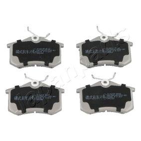 Bremsbelagsatz, Scheibenbremse JAPANPARTS Art.No - PP-0901AF OEM: 5Q0698451M für VW, AUDI, RENAULT, SKODA, SEAT kaufen