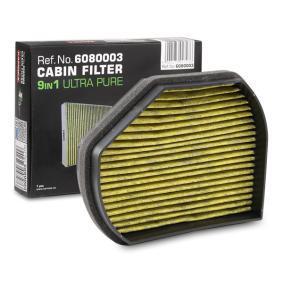Filter, Innenraumluft KAMOKA Art.No - 6080003 OEM: 2108300818 für MERCEDES-BENZ, SMART, CHRYSLER kaufen