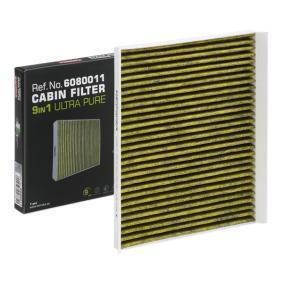 Filter, Innenraumluft KAMOKA Art.No - 6080011 OEM: 46723435 für FIAT, ALFA ROMEO, CHRYSLER, LANCIA, IVECO kaufen