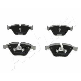 Bremsbelagsatz, Scheibenbremse ASHIKA Art.No - 50-00-0113 OEM: 34112288858 für BMW kaufen