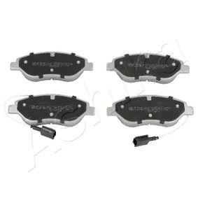 Bremsbelagsatz, Scheibenbremse ASHIKA Art.No - 50-00-0213 OEM: 77365188 für MERCEDES-BENZ, FIAT, HONDA, ALFA ROMEO, CHRYSLER kaufen