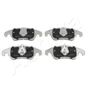 Bremsbelagsatz, Scheibenbremse ASHIKA Art.No - 50-00-0309 OEM: 1567730 für VW, FORD kaufen