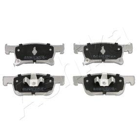 Bremsbelagsatz, Scheibenbremse ASHIKA Art.No - 50-00-0401 OEM: 1605281 für OPEL, VAUXHALL kaufen