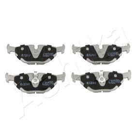 Bremsbelagsatz, Scheibenbremse ASHIKA Art.No - 51-00-0105 OEM: 34211164501 für BMW, CITROЁN, MINI, ROVER, MG kaufen