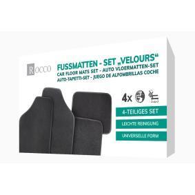 Σετ πατάκια δαπέδου για αυτοκίνητα της ROCCO: παραγγείλτε ηλεκτρονικά