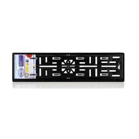 Porte plaques d'immatriculation ALCA pour voitures à commander en ligne