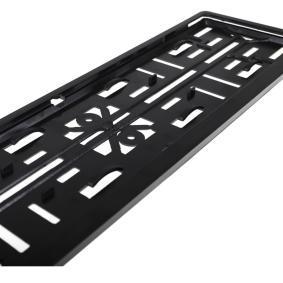 Suportes da placa de matrícula para automóveis de ALCA - preço baixo
