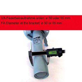 Комплект за ходовата част, пружини / амортисьори 40260-2 H&R