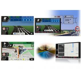 NX807E Multimedia-receiver voor voertuigen