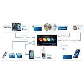 NX807E CLARION Multimedia-receiver voordelig online