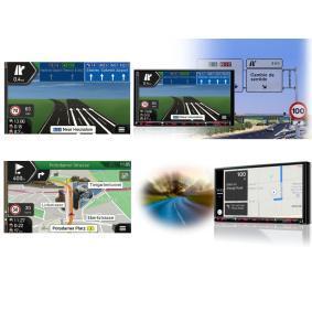 NX807E Receptor multimédia para veículos