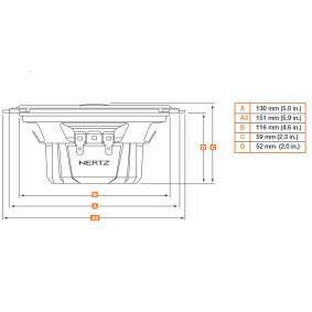 DCX 130.3 Speakers voor voertuigen