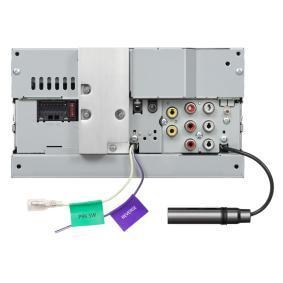 KW-V255DBT Multimedia-receiver voor voertuigen